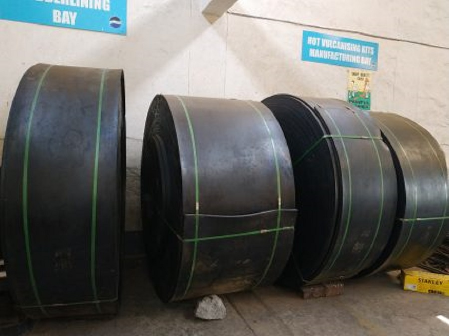 Supply of conveyor belts